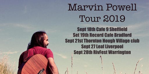 Live music: Marvin Powell