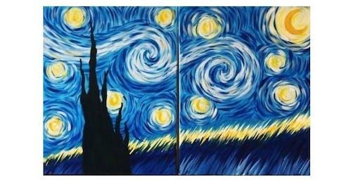 Date Night, Paint Night Van Gogh Style
