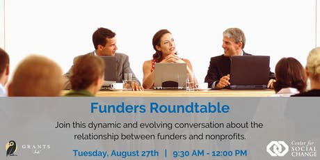 Funders Roundtable  tickets