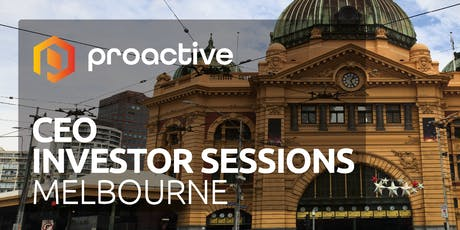 Proactive's CEO Investor Sessions tickets