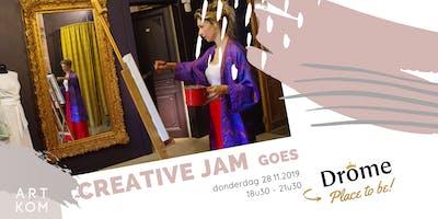 Creative JAM goes Drôme