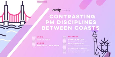 Contrasting PM Disciplines Between Coasts: AWIP NYC Launch tickets