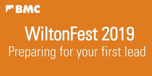 BMC Wilton Fest 2019 - Preparing for your first lead course