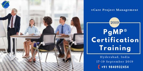 PgMP Training | Hyderabad | India | September | 2019 tickets