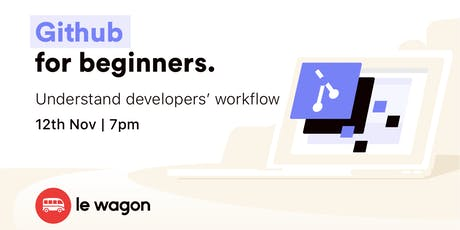 Git and GitHub for Beginners tickets