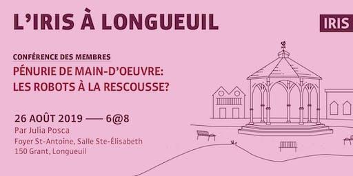 L'IRIS à Longueuil — Conférence annuelle des membres et partenaires