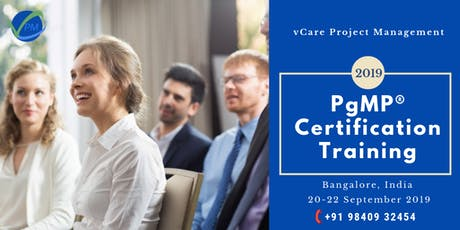 Program Management | Training | Course | Bangalore | September | 2019 tickets