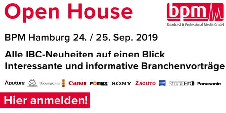 BPM Open House 2019 Tickets