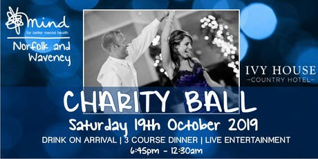 Norfolk and Waveney Mind Charity Ball 2019 tickets