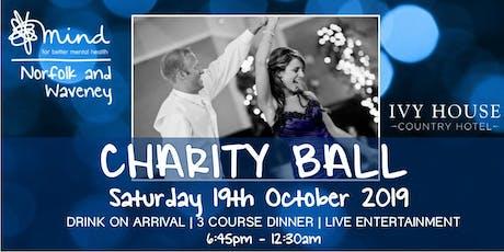 Norfolk and Waveney Mind Charity Ball 2019 tickets