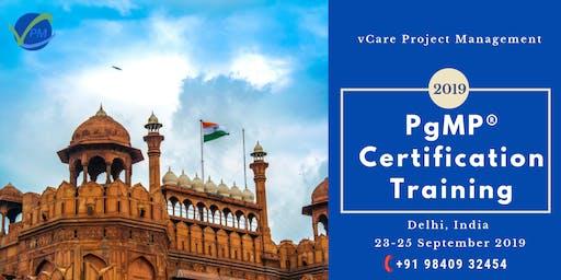 Program Management | Training | Course | Delhi | September | 2019
