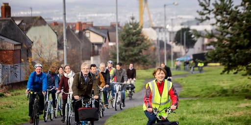 Led ride: Titanic Quarter & Lagan Towpath