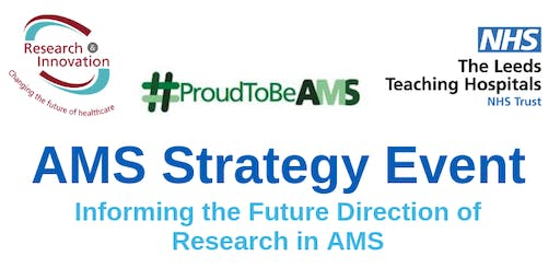 AMS Strategy Event: Informing the Future Direction of Research in AMS