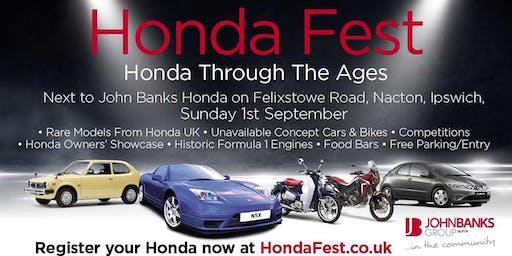 Honda Fest UK 2019