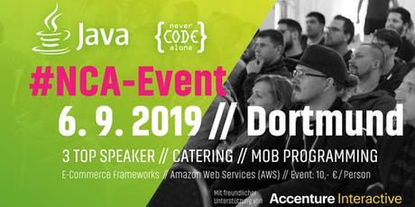 Accenture Interactive Java #NCAEvent Tickets
