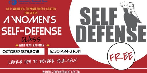 A Women's Self Defense Class