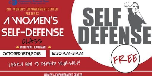 A Women's Self Defense Class