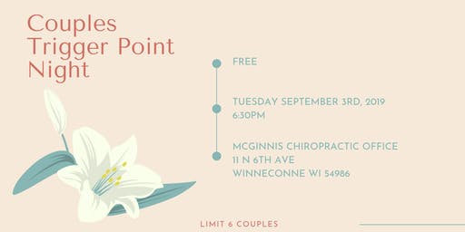 Couples Trigger Point Therapy Night