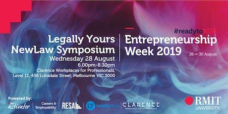 RMIT Entrepreneurship Week - Legally Yours NewLaw Symposium tickets
