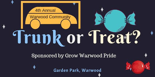 Grow Warwood Pride 4th Annual Trunk or Treat