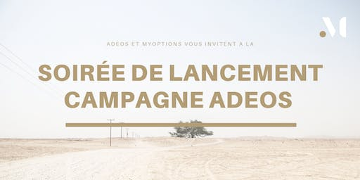 A la rencontre d'ADEOS International, en campagne sur myOptions !