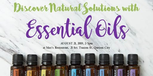 Why doTERRA? Why Now? Discover Natural Solutions with Essential Oils