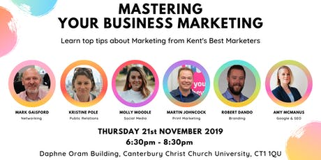 Mastering Your Business Marketing: Canterbury  tickets