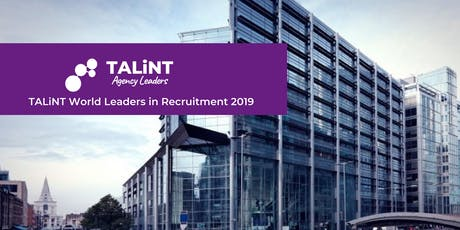 TALiNT World Leaders in Recruitment 2019 tickets