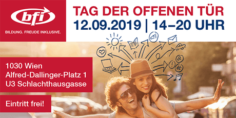 Tag der offenen Tür am BFI Wien Tickets