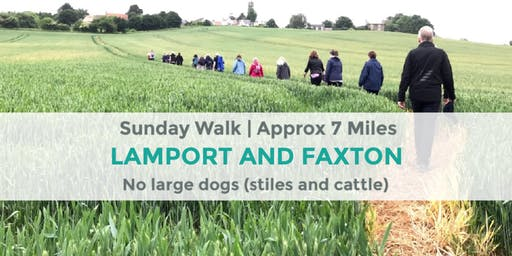 LAMPORT AND FAXTON FUMBLE   7 MILES   MODERATE   NORTHANTS