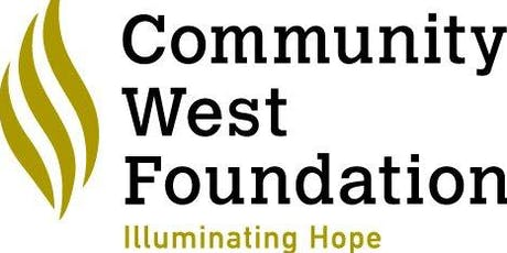 Community West Foundation 2019 Annual Meeting tickets