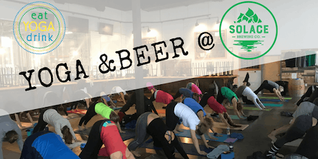 Yoga & Beer at Solace Brewing tickets