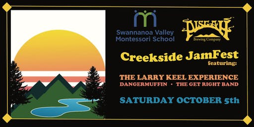 SVMS and Pisgah Brewing present Creekside JamFest