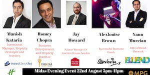 22nd August The Midas Touch Event