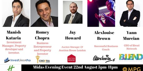22nd August The Midas Touch Event   tickets