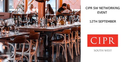 CIPR South West Links 'n' Drinks – Members Networking Event