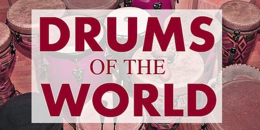 Drums of the World - drum workshop
