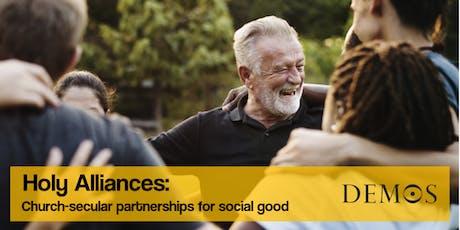 Holy Alliances: Church-secular partnerships for social good w Rt Hon Stephen Timms MP tickets