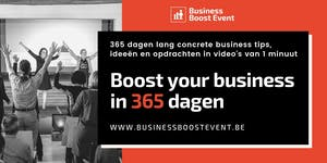 Boost your business in 365 dagen