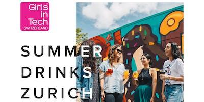 Girls in Tech Zurich - Summer Drinks