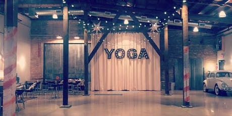 Warehouse Yoga and Wine tickets