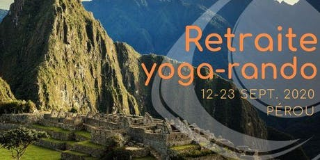 Retraite de yoga et de randonnée au Pérou entradas