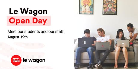 Le Wagon Open Day - Come meet our students and our team! ingressos