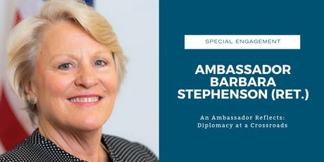 An Ambassador Reflects: Diplomacy at a Crossroads tickets