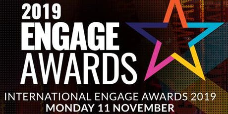 2019 Engage Awards Table Bookings tickets