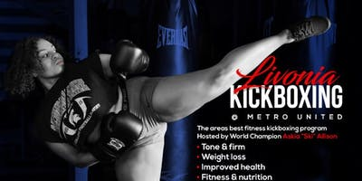 Livonia Kickboxing Grand Opening Class #1