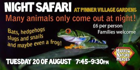 Night Safari tickets