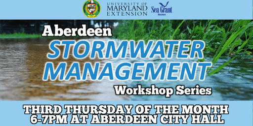 Aberdeen Stormwater Management Workshop Series