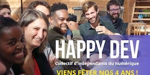 Happy Dev fête ses 4 ans !