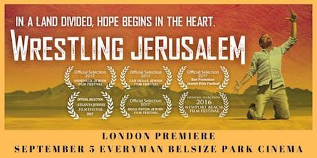 Wrestling Jerusalem: London Premiere tickets